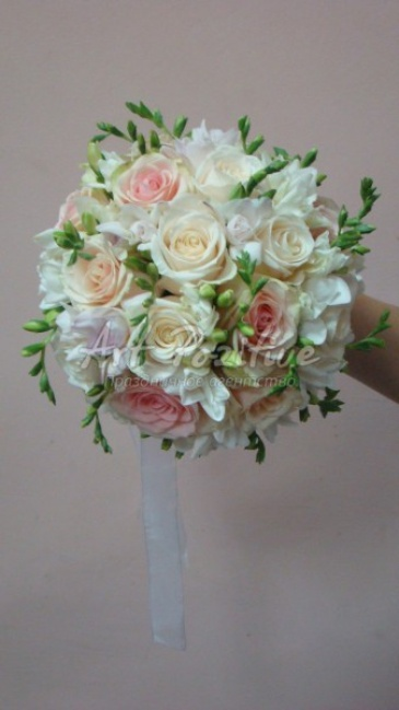 Букет для невесты своими руками фото